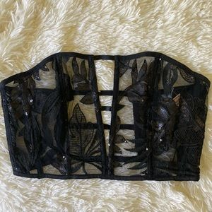 Victoria's Secret corset top